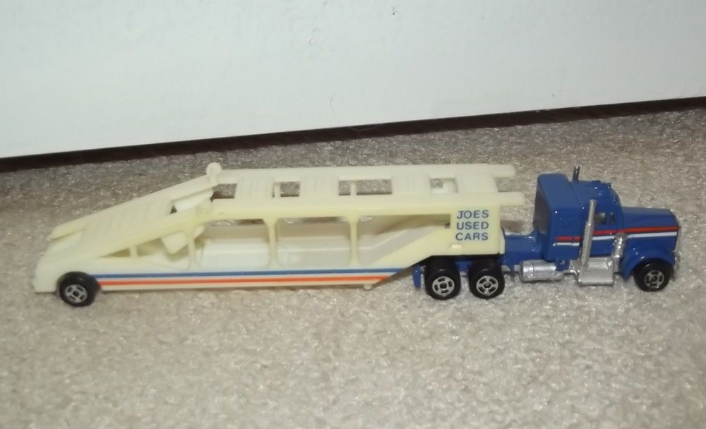 Vintage Joes Used Cars Tractor Trailer Car Carrier Made in Hong ...