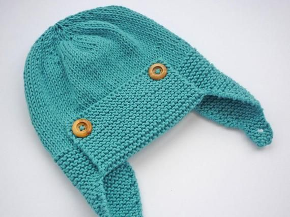 ee91969becc Baby Aviator Hat Knitting Pattern WRIGHT FLYER