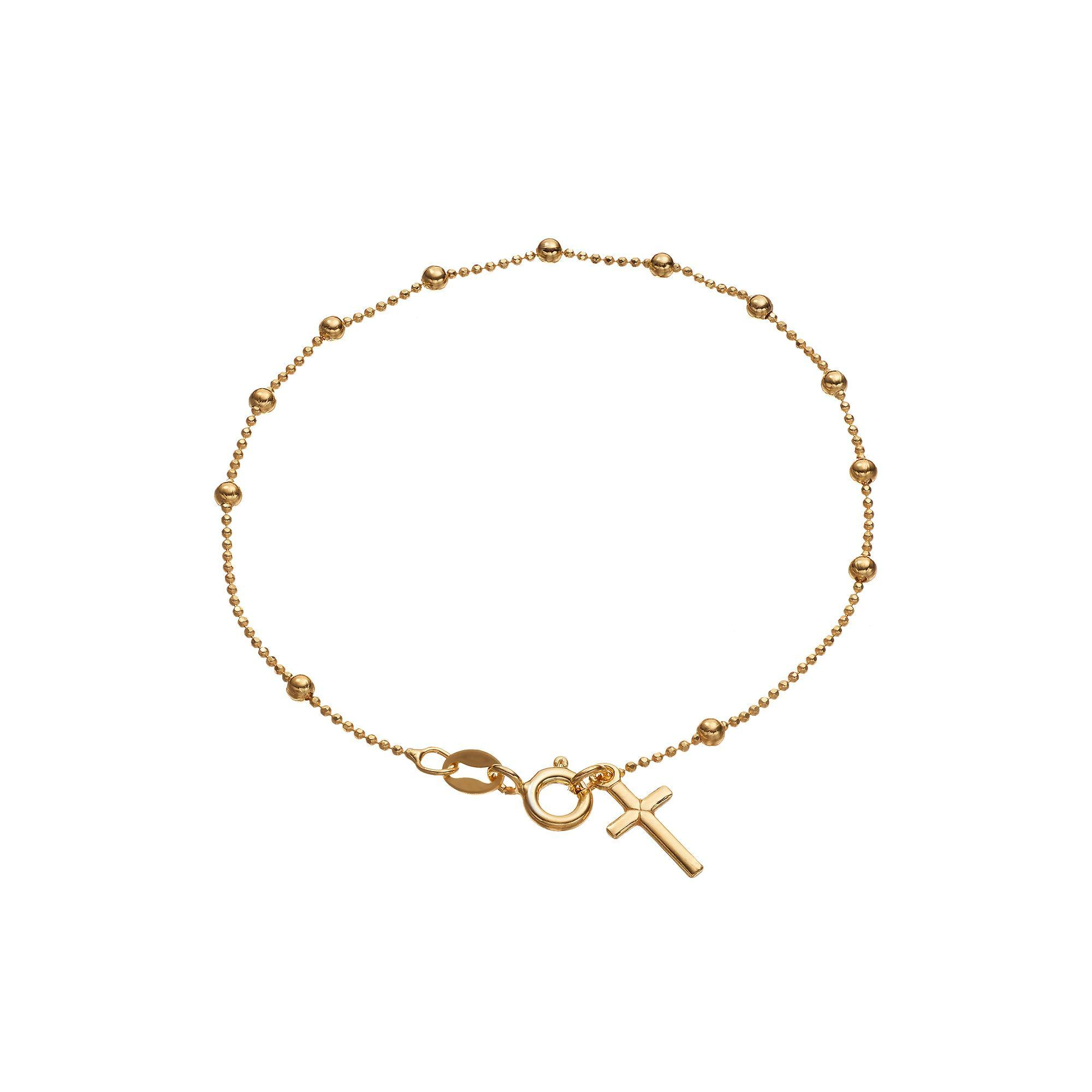 view gold children anklet ring jpg details index