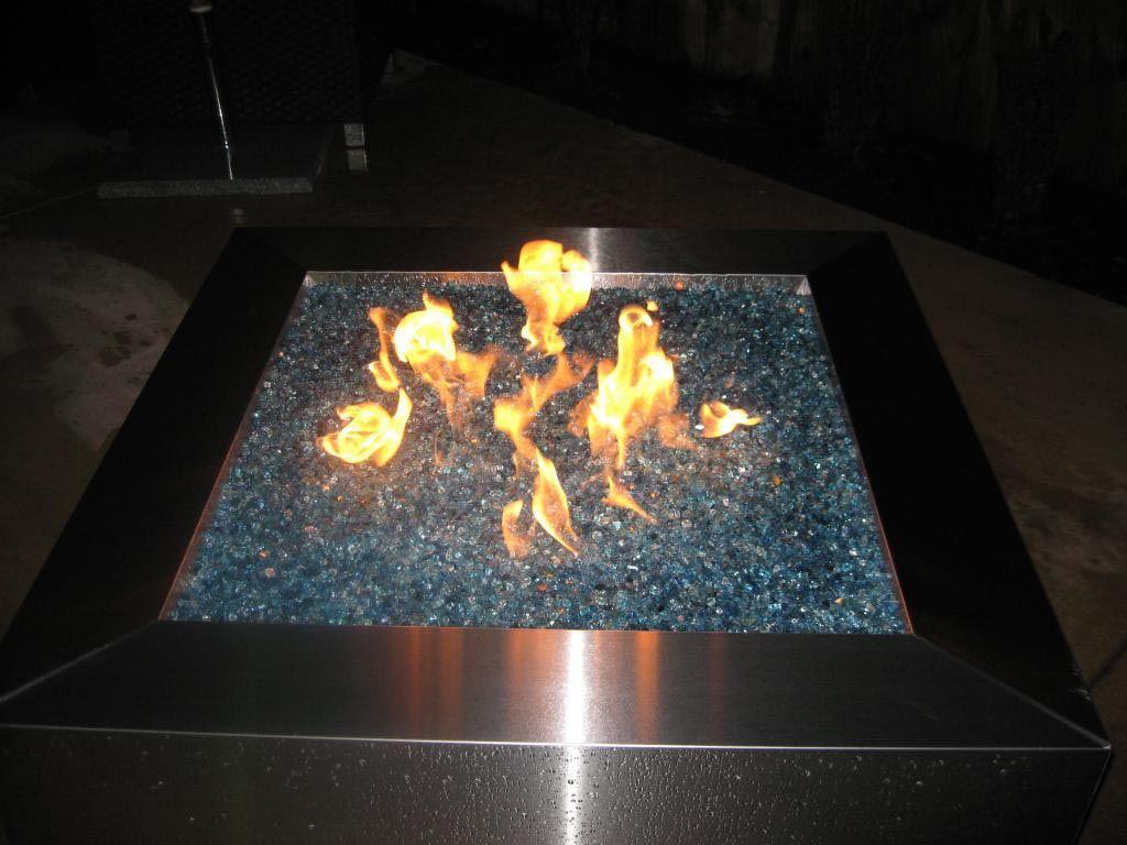 Propane Fire Pit Glass Rocks Fire Pit Design Ideas Fire Pit