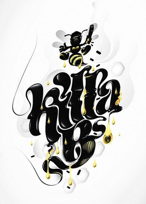 Wu Tang Clan Killa Beez Cartoon Noir T Shirt New Official Merch Shaolin