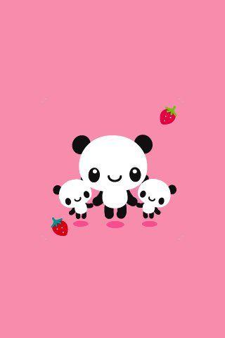 Sun Flower Petals Iphone Wallpaper Panda Wallpapers Cute Wallpapers Kawaii Panda