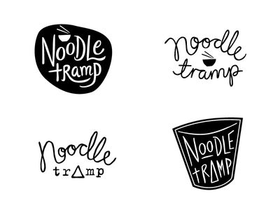 Noodles And Company Logo noodle tramp logo concepts | logos and company logo