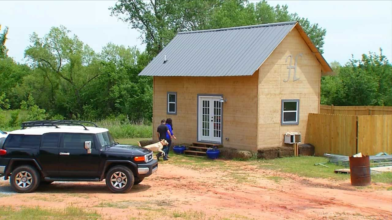 12x24 Tiny House in Oklahoma Cost 10000 to Build httpwww