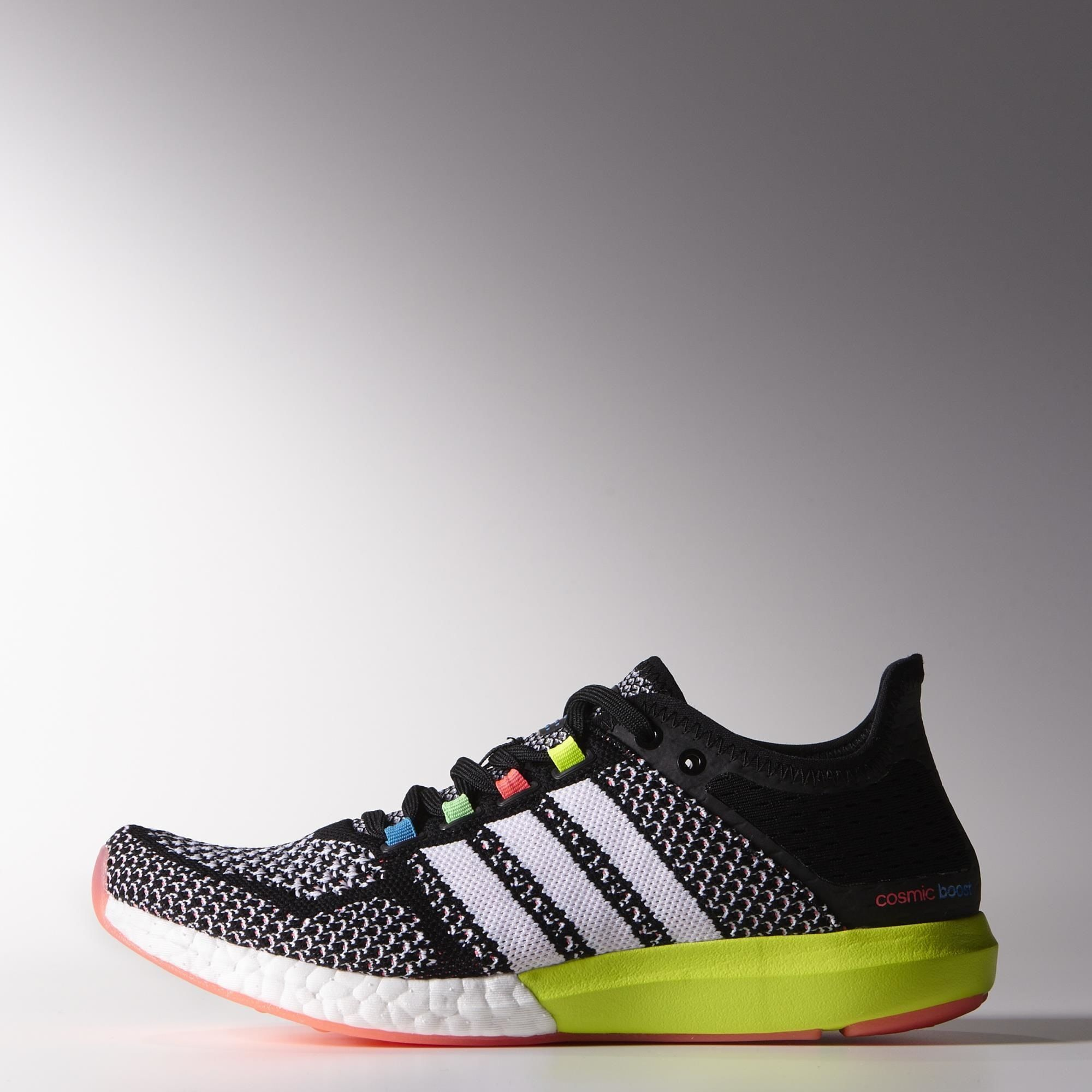 ... adidas climachill cosmic boost shoes core black running white solar blue  ...