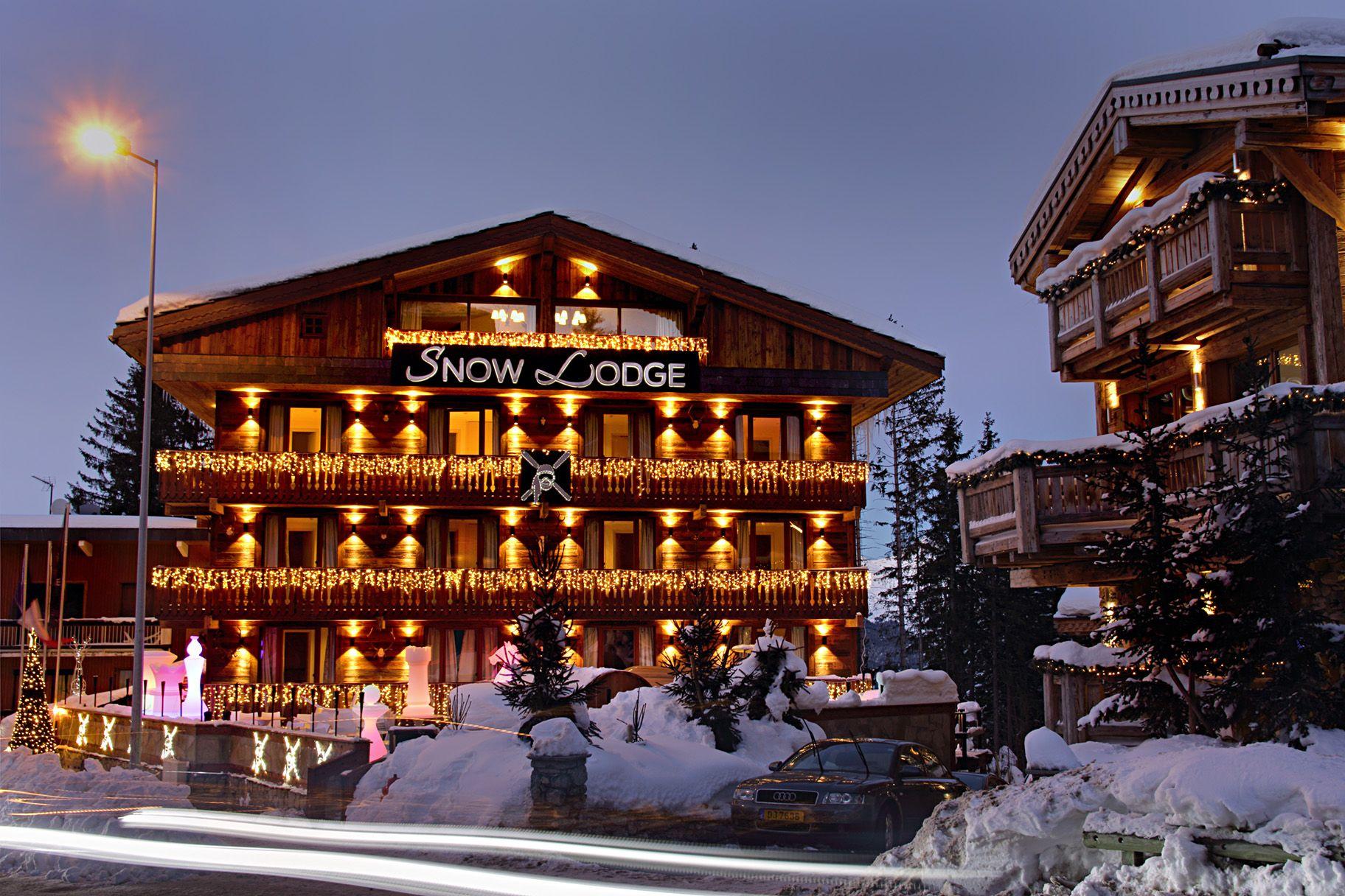 Snow Lodge Courchevel 1850 Facade
