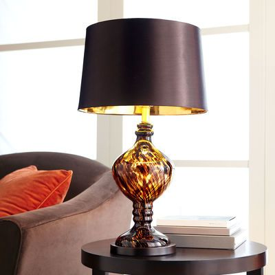 Pier One Table Lamps Fair Tortoise Glass Table Lamp  Lighting  Pinterest  Glass Table Lamps Design Inspiration