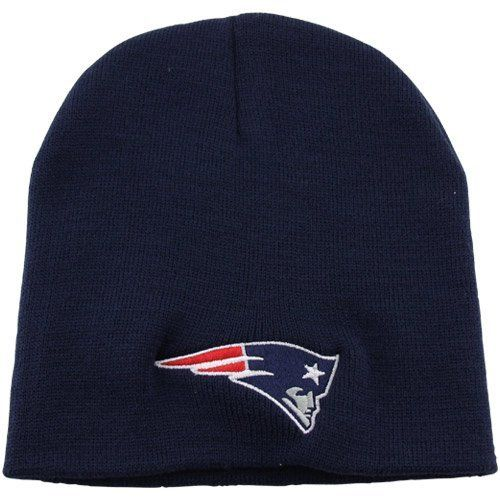 f27ad63dc06 NFL  47 Brand New England Patriots Cuffless Beanie - Navy Blue by Twins.   11.95