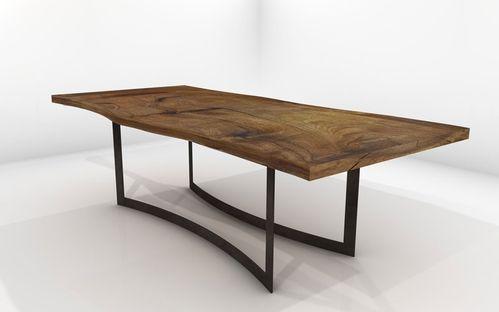 mesa diseño madera maciza - Buscar con Google
