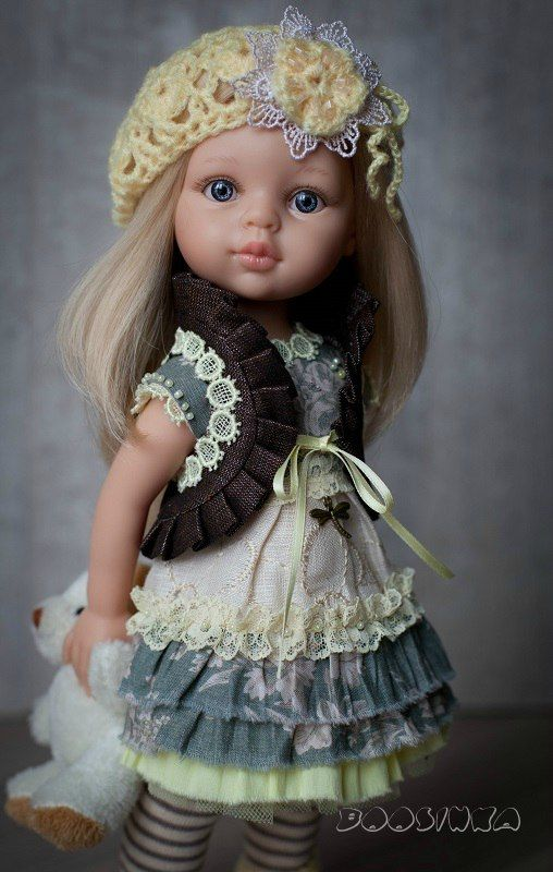 Pin de Елена Галочкина em Одежда для кукол | Roupas para