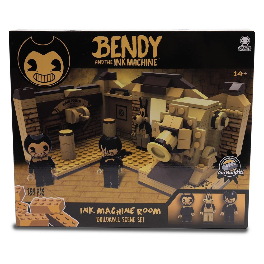 Bendy And The Ink Machine Room Buildable Scene Set Lego Type