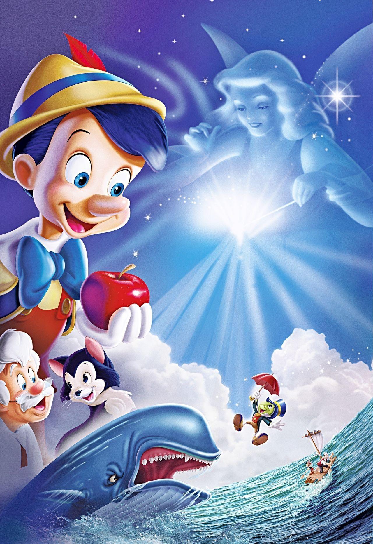 "Pinocchio Favorite Disney movie ""I've got no strings So"