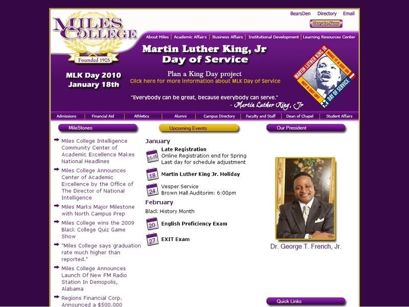Miles College Is A Historically Black College Founded In 1898 It