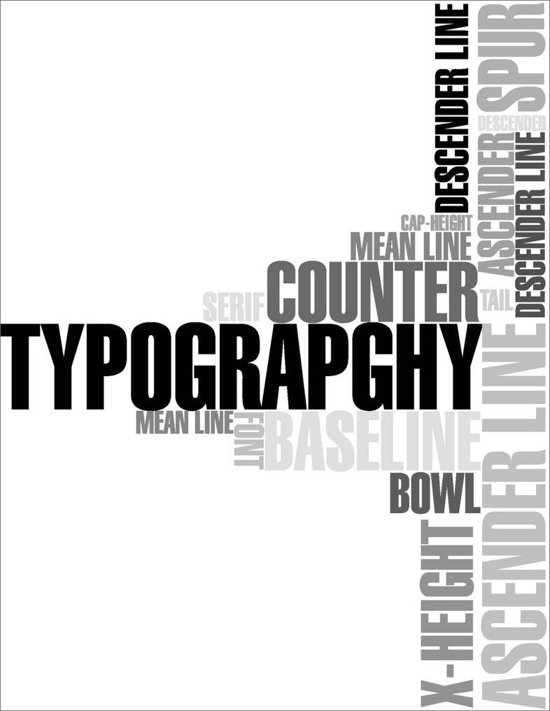 30 examples of typography in poster design