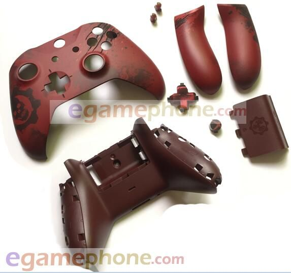 New Original Full Set Xboxones Elite Limited Gears Of War Xbox One S Controller Housing Shell Side Panels Dpad Key Xbox One S Xbox One Gaming Gifts