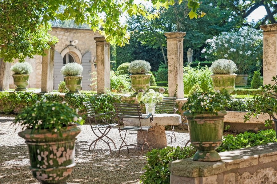 10 garden design French provence france ideas