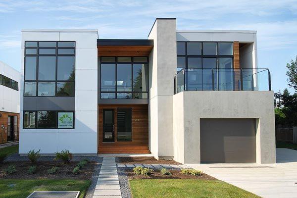 casa lujosa y moderna de pisos