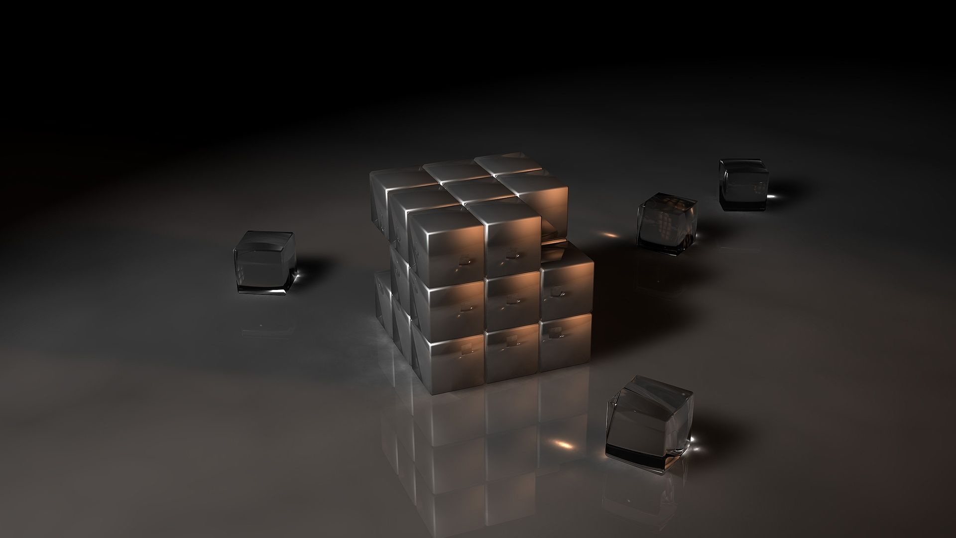 3d cuboids tablet #wallpaper ~ #abstract #design #art #photography