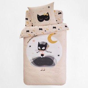 da67e0cf8b Housse de couette imprimée CAT OPERA La Redoute Interieurs - Linge de lit  enfant