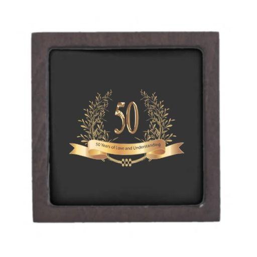 Happy 50th Wedding Anniversary Gifts Jewelry Box 50 wedding