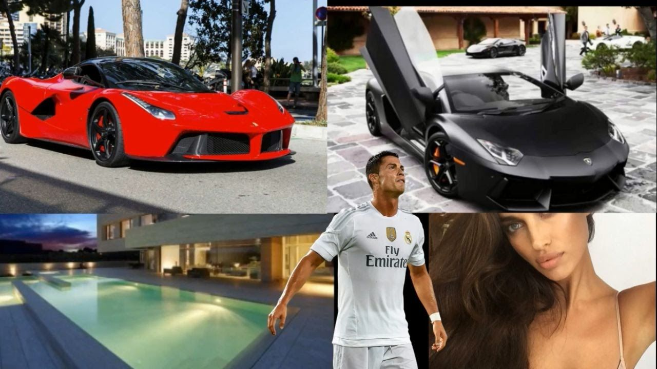 Cristiano ronaldo lifestyle 2017net worth house family cars income