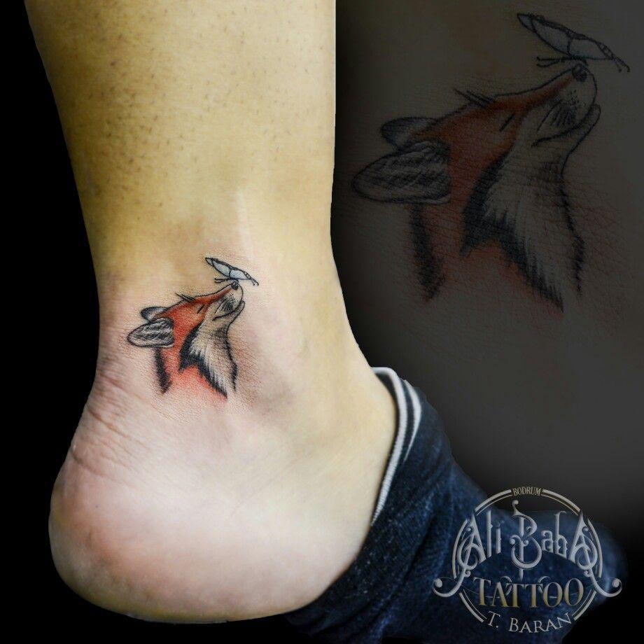 Fox Tattoo Tilki Dovmesi Tattoo Bodrum Tattoo Bodrum Dovme Piercing Turkey Tattoo Small Minimalist Tattoo Foot Tatto Small Fox Tattoo Fox Tattoo Turkey Tattoos