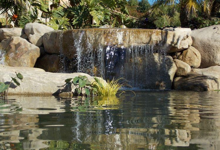 Gestaltung Gartenteich gartenteich pool anlegen wasserfall steine gestaltung natur garten