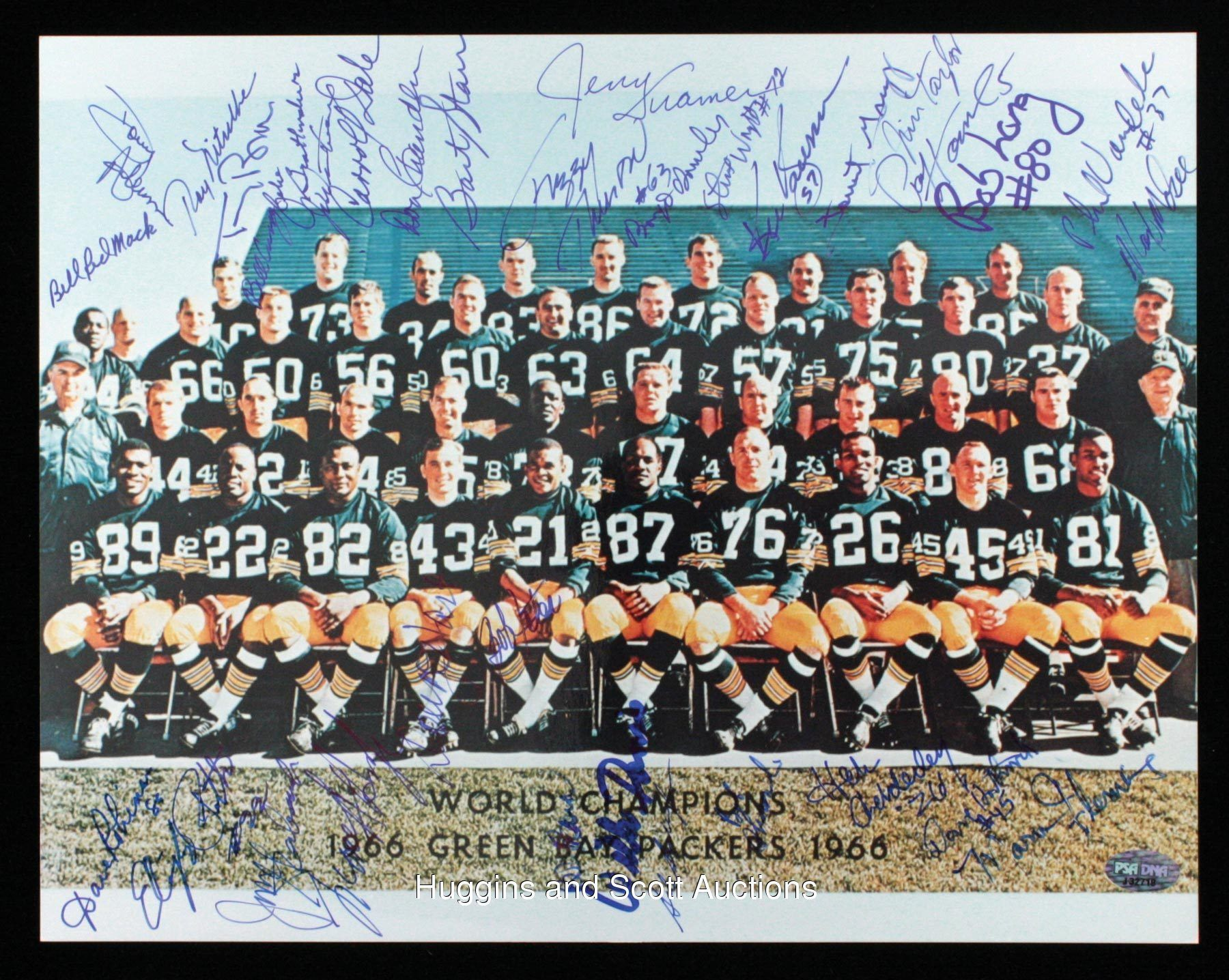 1966 Green Bay Packers World Champions Team Signed 11x14 Photo Green Bay Packers Green Bay Packers Team Green Packers