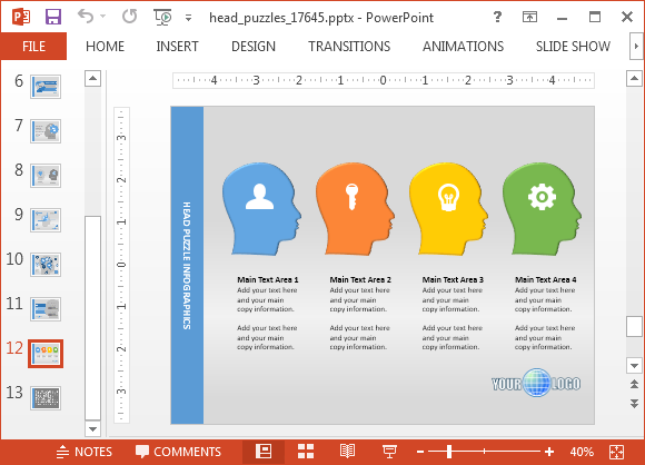 Animated Mind Map Powerpoint Template Powerpoint Presentation