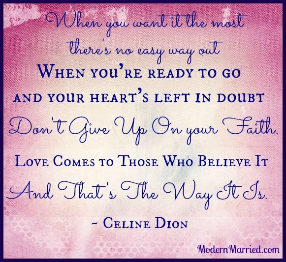 That S The Way It Is Love Marriage Quotes Celine Dion Lyrics Celine Dion
