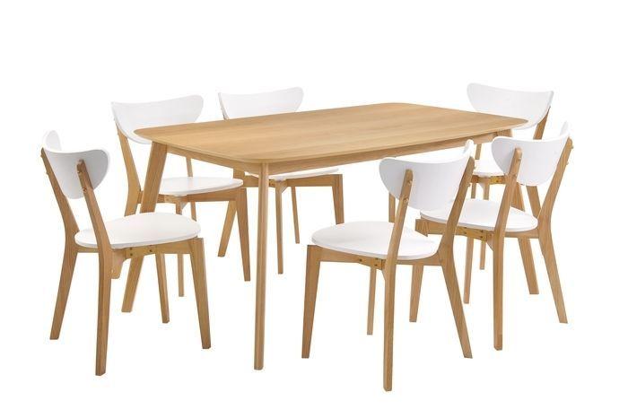 Helsinki Dining Table Rect Oak