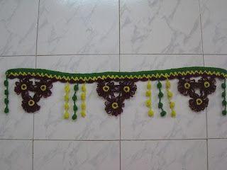 Crochet Door Decorate