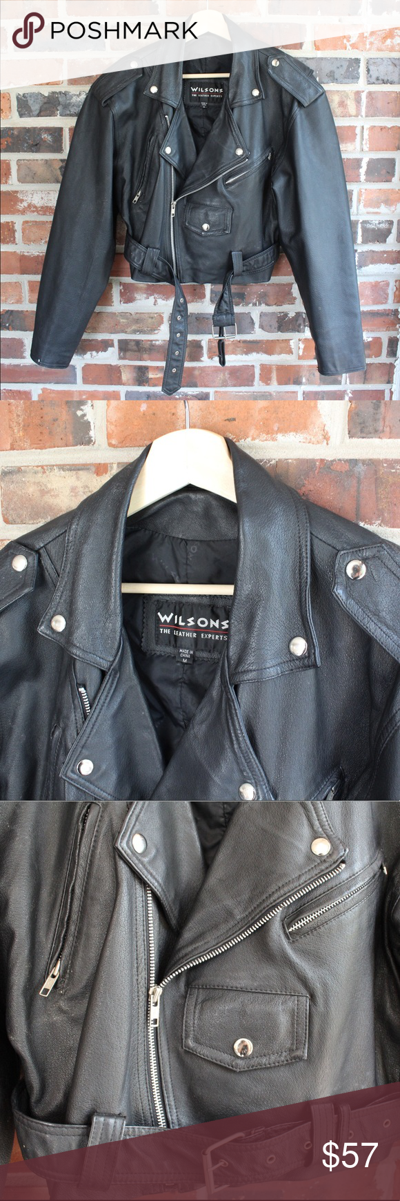 Vintage Wilson's Leather Cropped Jacket Great condition 7