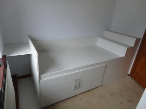 Bed Over Stair Box With Storage And Stairs: Direct Bedrooms / Direct Works In Warrington