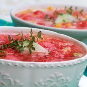 Soupe de pastèque - une recette Allégé - Cuisine