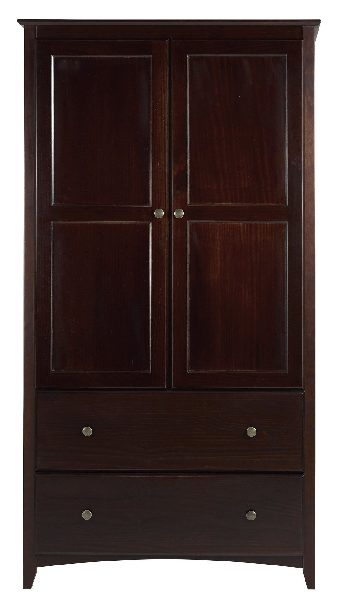 Avila 2 Door And 2 Drawer Armoire Products Armoire Tv Armoire
