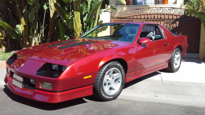 1990 Chevrolet Camaro Iroc Z28 5 7 245hp Tpi V8 700r4 Auto