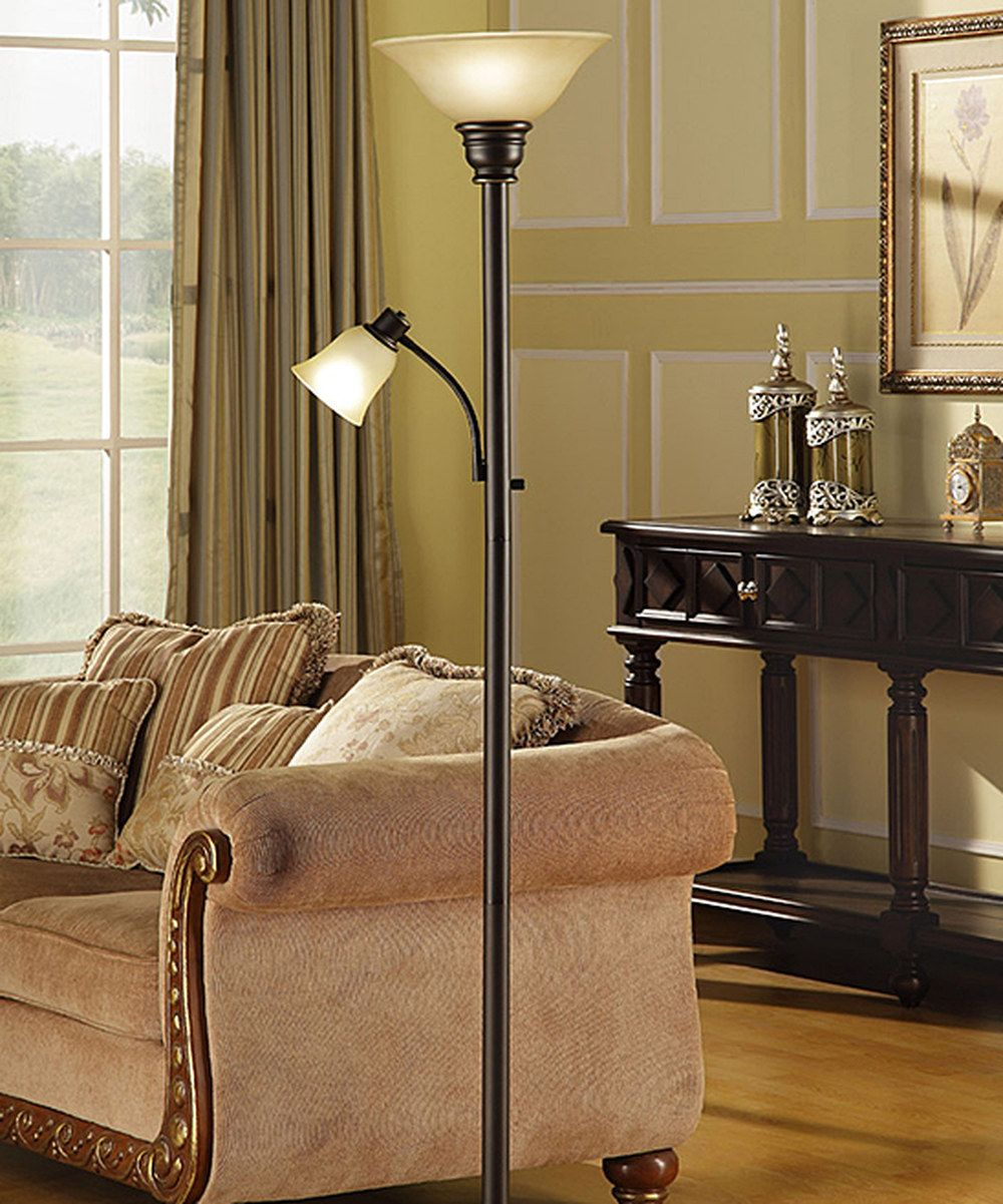 Look At This Oil Rubbed Bronze Mother Daughter Torchiere Floor Lamp On Zulily Today