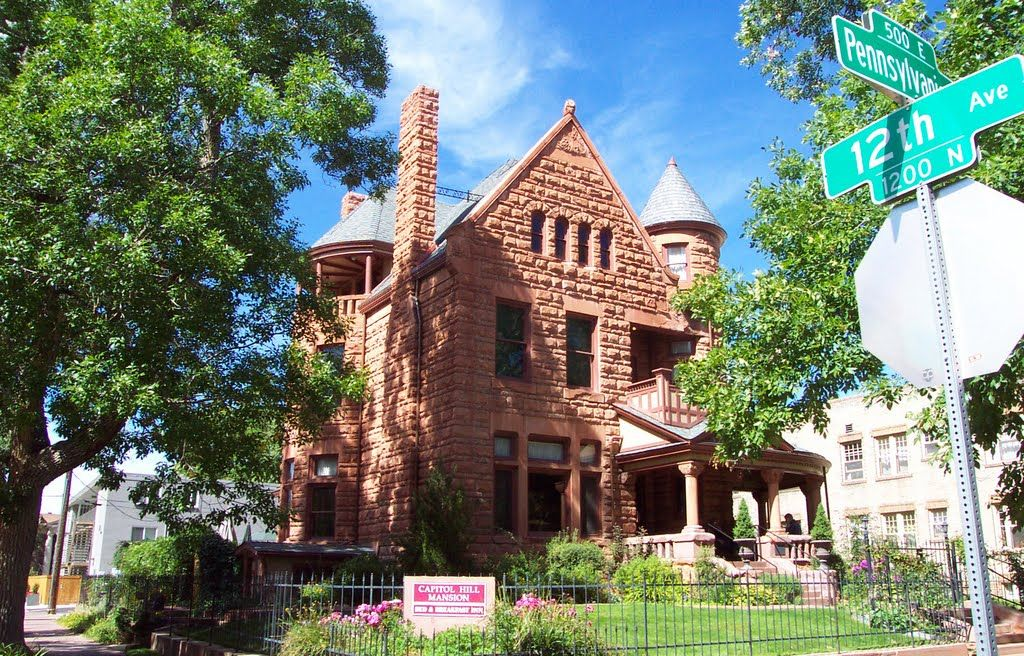 Capitol Hill Mansion Bed and Breakfast www