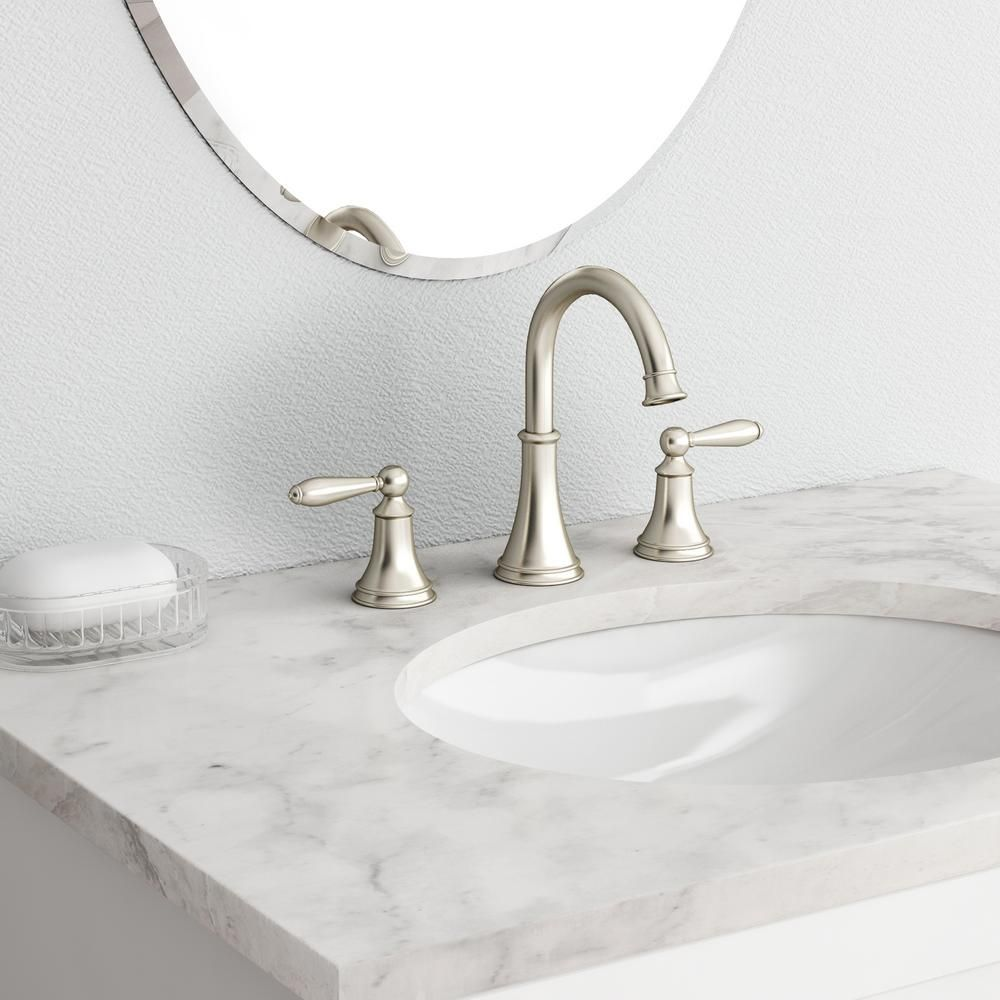 Salle De Bain Wittenheim ~ Pfister Courant 8 In Widespread 2 Handle Bathroom Faucet In Brushed