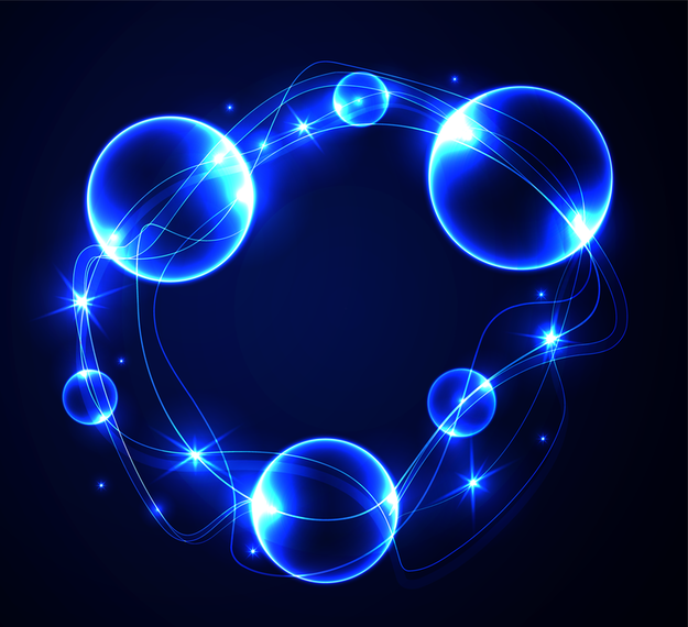 Dynamic Blue Halo Effects 03 Vector Ad Aff Sponsored Halo Vector Effects Blue Glowing Background Vector Images Vector