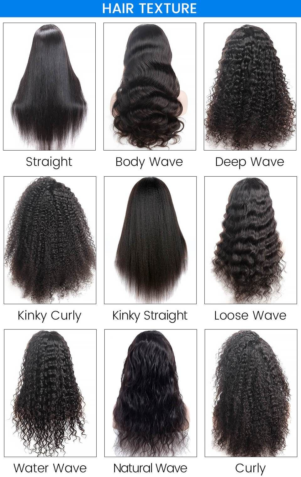 14 Inch Curly Hair Chart : curly, chart, Human, Straight(12-16, Enjoy, Black, Friday, Discount, Today, Curly, Styles, Naturally,, Styles,