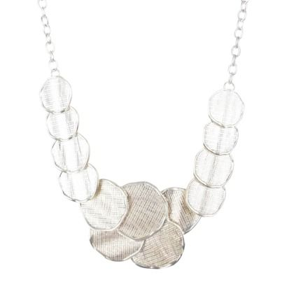 Irregular Necklace - Silver