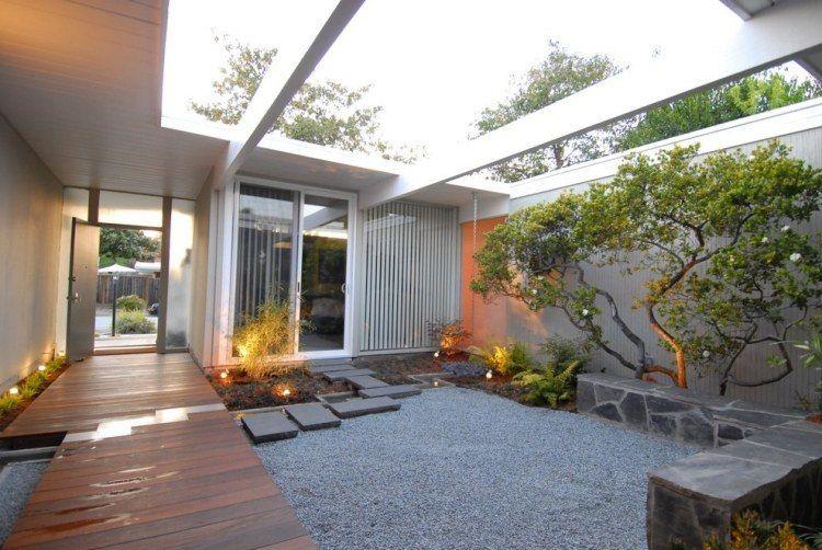 Jardin Zen – Plantes Et Compositions Harmonieuses En Photos | Cour