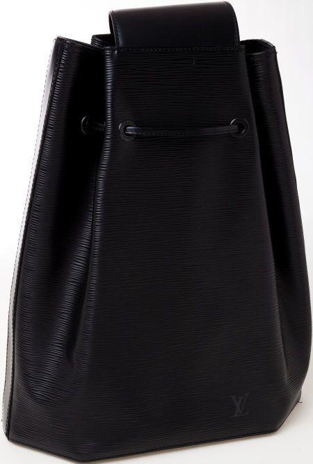 4867f7dbc1ba Heritage Vintage  Louis Vuitton Black Epi Leather One Strap Backpack ...