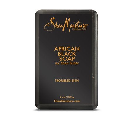 Sheamoisture Bar Soap African Black Soap 8 Oz Walmart Com Shea Moisture Products African Black Soap Soap For Oily Skin