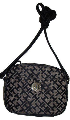 d99d28b364a Women's/Girl's Tommy Hilfiger Cam Xbody/Crossbody Handbag (Black/Brown  Alpaca)