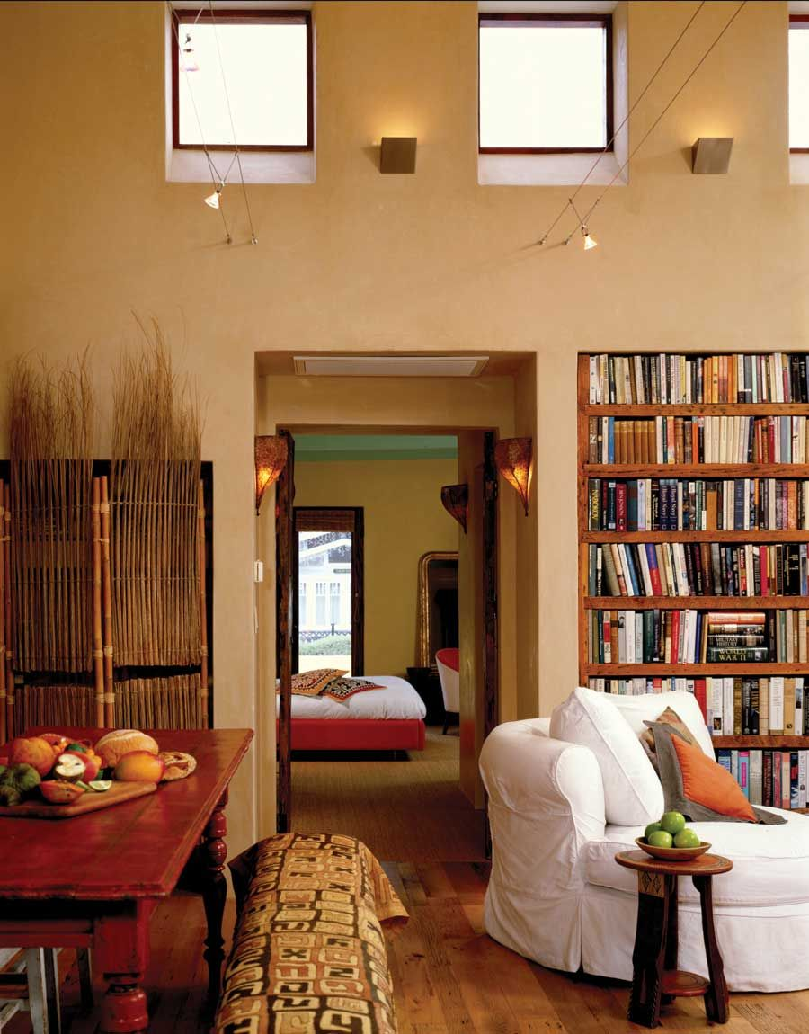 Clay walls using earthen plasters and paints in your home green