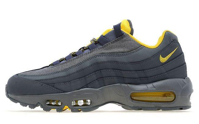 meet bed41 e0ab1 Nike Air Max 95  Dark Grey   Tour Yellow