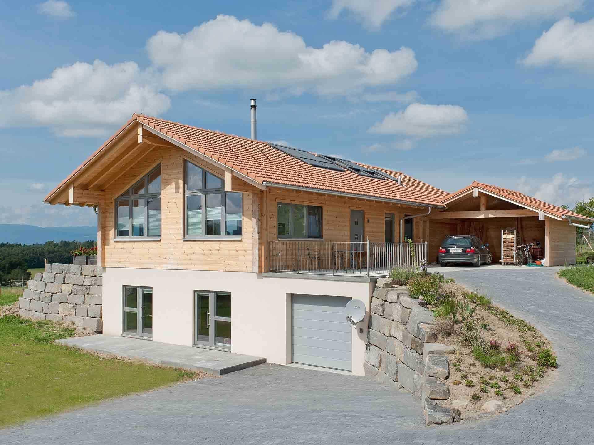 Musterhaus Sunnsite Fullwood Wohnblockhaus in 2020